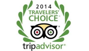 TridAdvisor Travelers choice 2014