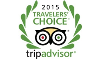 TridAdvisor Travelers choice 2015